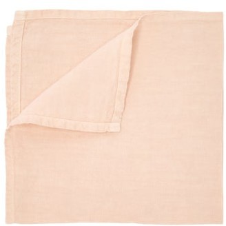 Once Milano - Set Of Four Linen Napkins - Light Pink