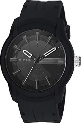 Diesel Men's 'Armbar' Quartz Resin and Silicone Casual Watch