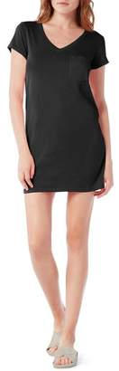 Michael Stars V-Neck Jersey Mini Dress