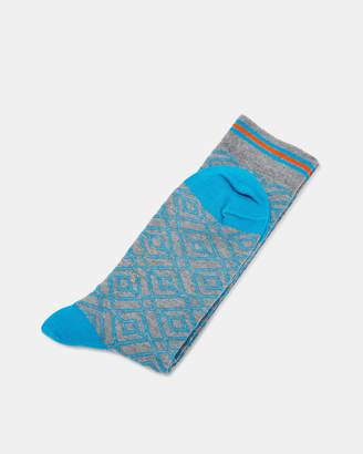Ted Baker MULLEIN Patterned cotton socks