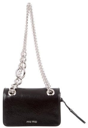 Miu Miu Miu Miu 2016 Club Shine Crossbody Bag w/ Tags
