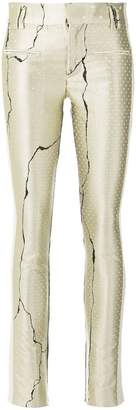 Haider Ackermann printed skinny trousers
