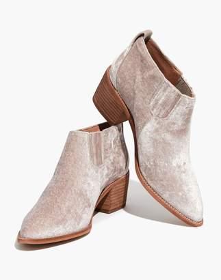 Madewell The Grayson Chelsea Boot in Velvet