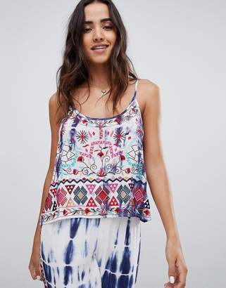 Raga Catching Waves Printed Cami