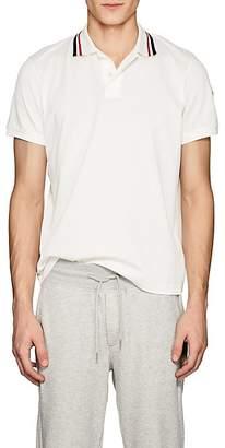 Moncler Men's Piqué Cotton Polo Shirt