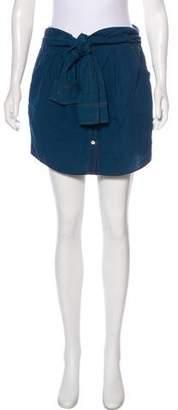 Theory Denim Mini Skirt