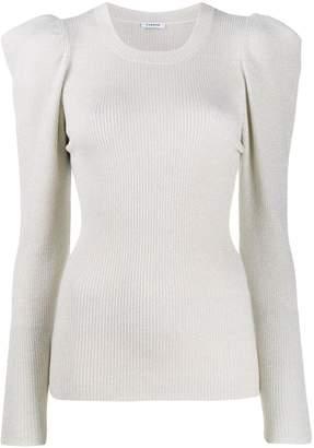 P.A.R.O.S.H. ribbed sweatshirt