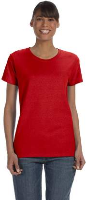 Gildan Womens 5.3 oz. Heavy Cotton Missy Fit T-Shirt (G500L) -M-12PK