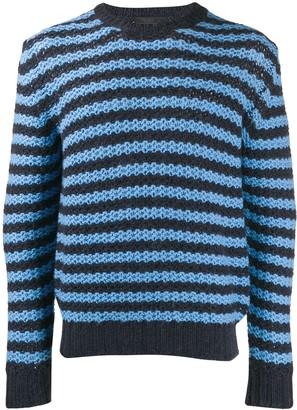 Prada striped knit sweater