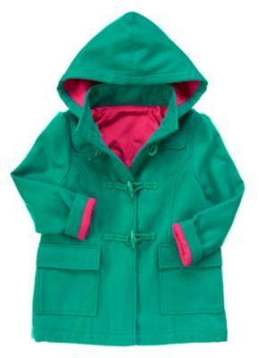 Crazy 8 Hooded Toggle Coat