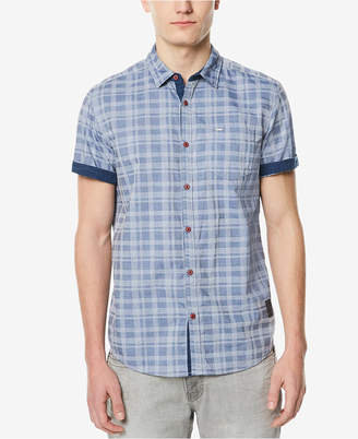Buffalo David Bitton Men's Button-Down Jacquard Shirt