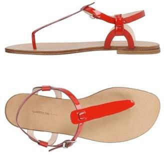Roberto Del Carlo Toe post sandal