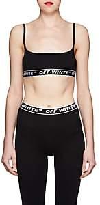 Off-White Women's Logo Training Bralette - Black