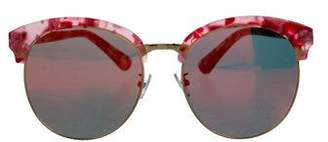 Gentle Monster Mirrored Oversize Sunglasses