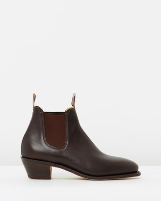 R.M. Williams Adelaide Cuban Heel Boots