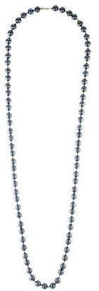 14K Hematite Bead Necklace