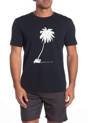 Perry Ellis Short Sleeve Palm Tree T-Shirt