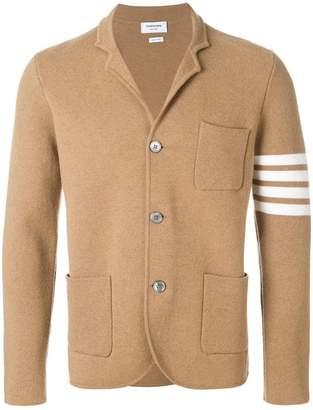 Thom Browne 4-bar Stripe Camel Hair Sport Coat