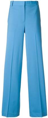 Theory wide leg tailored trousers