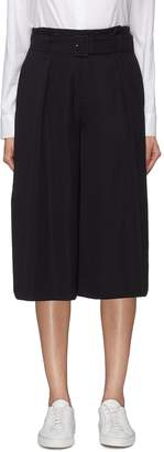 Vince Belted button cuff culottes