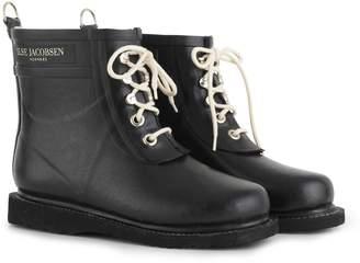 Next Womens Ilse Jacobsen Black Rubber Boot