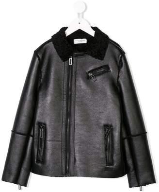 4c7f77a9f Boys Faux Leather Jacket - ShopStyle Canada