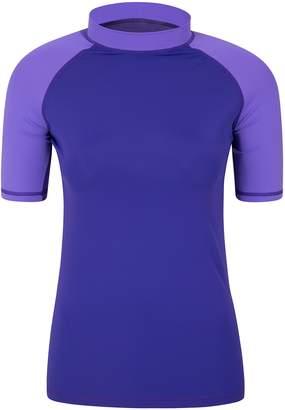 Warehouse Mountain Womens UV Rash Vest - Short Sleeves Ladies Top
