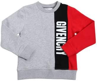 Givenchy Tricolor Cotton Sweatshirt