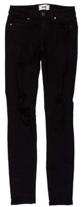 Paige Mid-Rise Verdugo Ultra Skinny Jeans