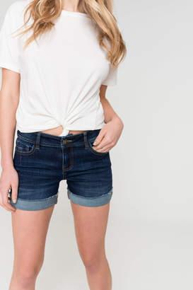 Ardene Frayed Cuffed Jean Shorts