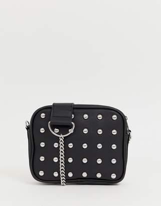 Monki studded crossbody bag