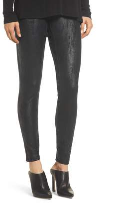 Yummie High Waist Faux Suede Leggings