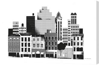 Curioos 8 Avenue (Canvas) by Jens Magnusson