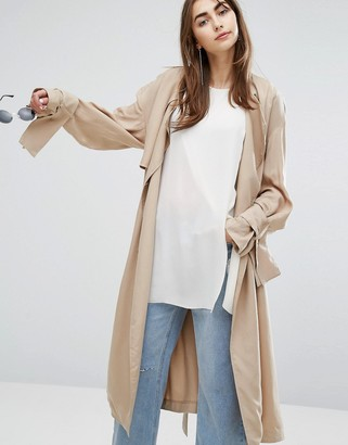 Cheap Monday Soft Trench Coat $245 thestylecure.com