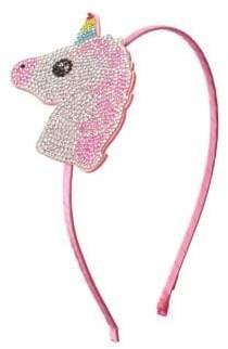 Swarovski Bari Lynn Crystal Unicorn Headband