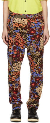 Sacai Multicolor Floral Print Trousers