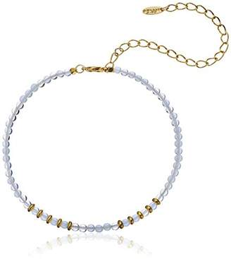 Ettika Still Surprise You and Gold-Plated Brass Choker Necklace