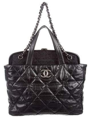 Chanel Portobello Tweed Frame Bag