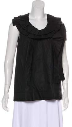 Marc Jacobs Pleated Sleeveless Top