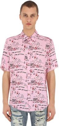 Mauna Kea Hawaii Island Printed Shirt
