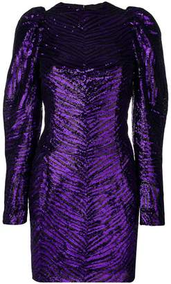 Alexandre Vauthier fitted sequin dress