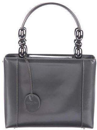 Christian Dior Smooth Leather Malice Tote