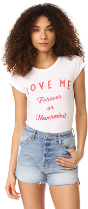 Zadig & Voltaire Love Me Tee $98 thestylecure.com