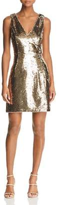 Aidan Mattox Sequined Cocktail Dress
