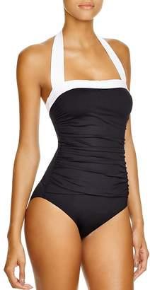 Lauren Ralph Lauren Bel Aire Maillot One Piece Swimsuit