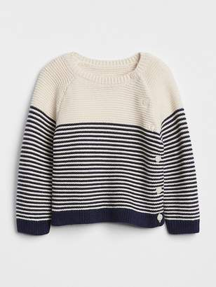 Gap Stripe Garter Sweater