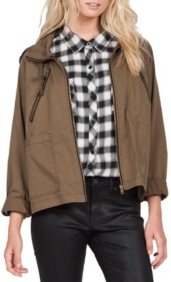 Volcom 'Good Side' Hooded Jacket $79.50 thestylecure.com
