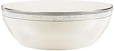 NoritakeNoritake Meridian Cirque Filigree Platinum Round Vegetable Bowl