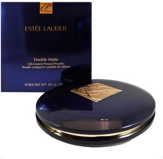 Estee Lauder Double Matte Oil-control Pressed Powder 02 - Light Medium for Women, 0.49 fl. Oz.
