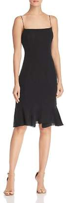 Milly Mandy Flounce-Hem Dress